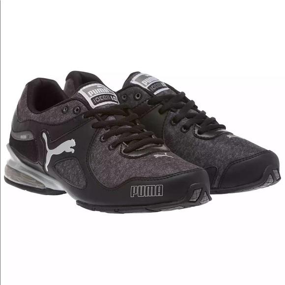 all black womens puma sneakers